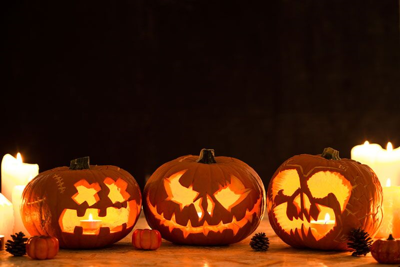 jack-o-lanterns, healthy Halloween recipe