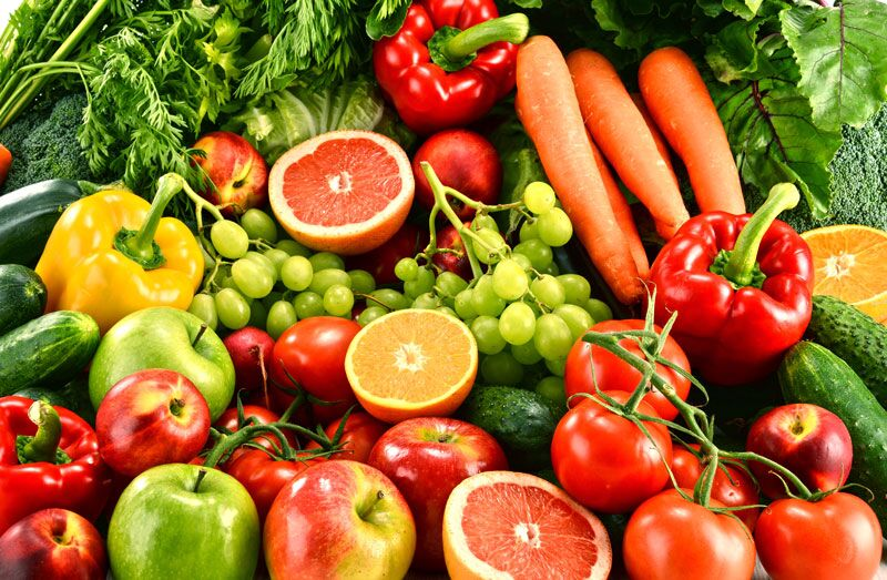 fruits and vegetables, healthy recipe to test out this new year
